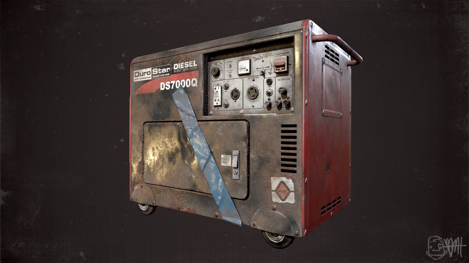 Brett marshall tucker generator render 2