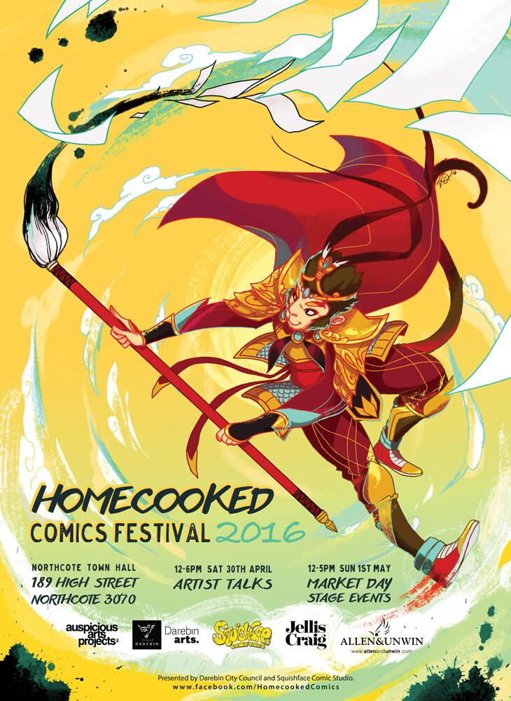 Vikki ong homecooked comics fest cmyk