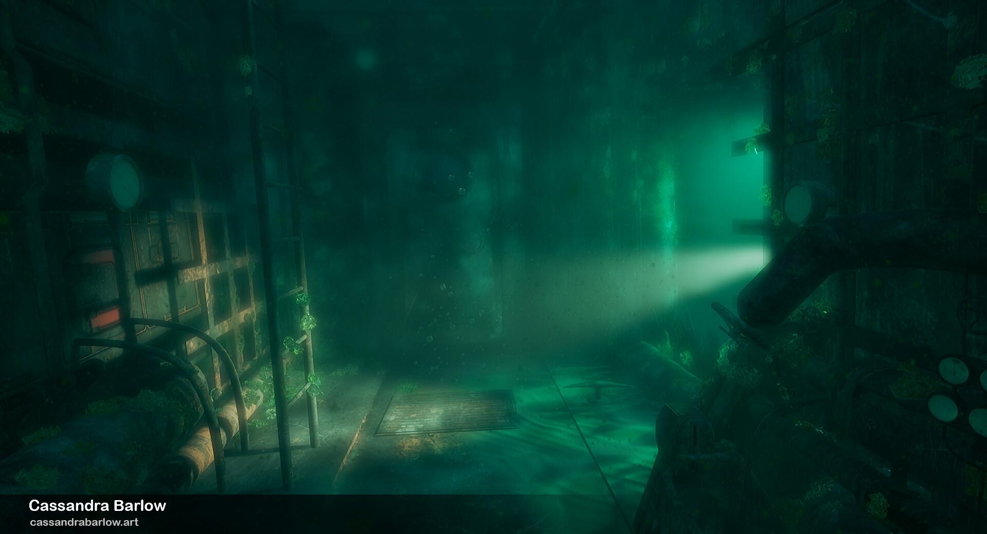 Cassandra barlow cassandrabarlow submarinewreck 4