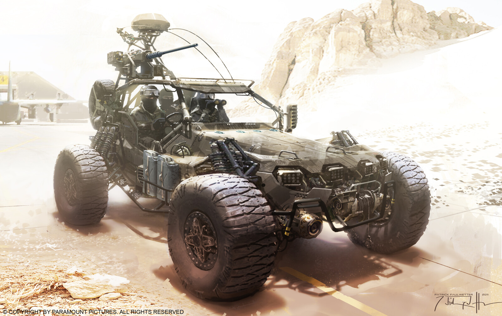 GI Joe : Retaliation Buggy concept