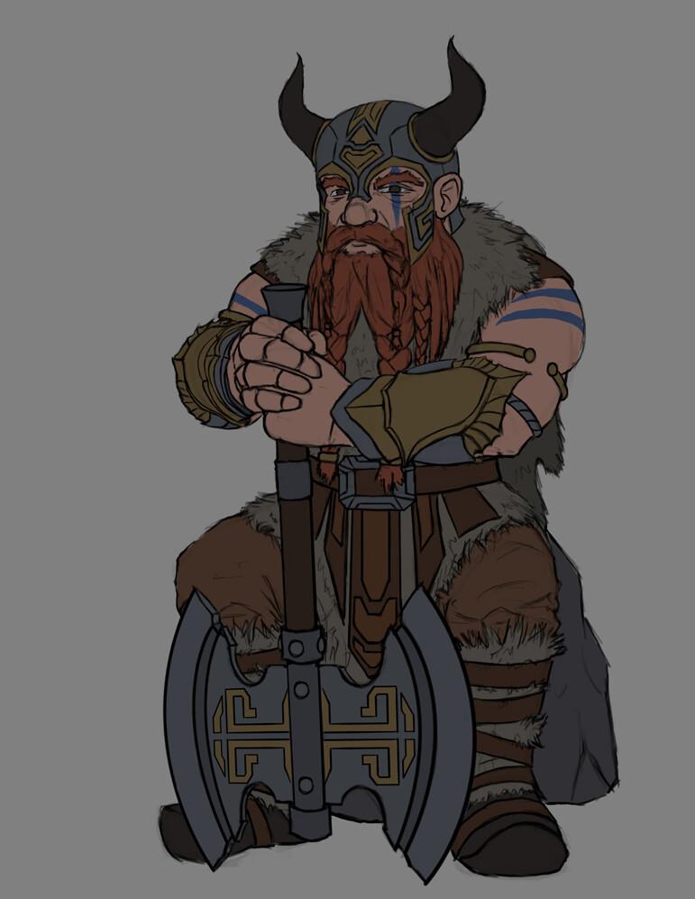 Christian hadfield dwarf barbarian update 1 3