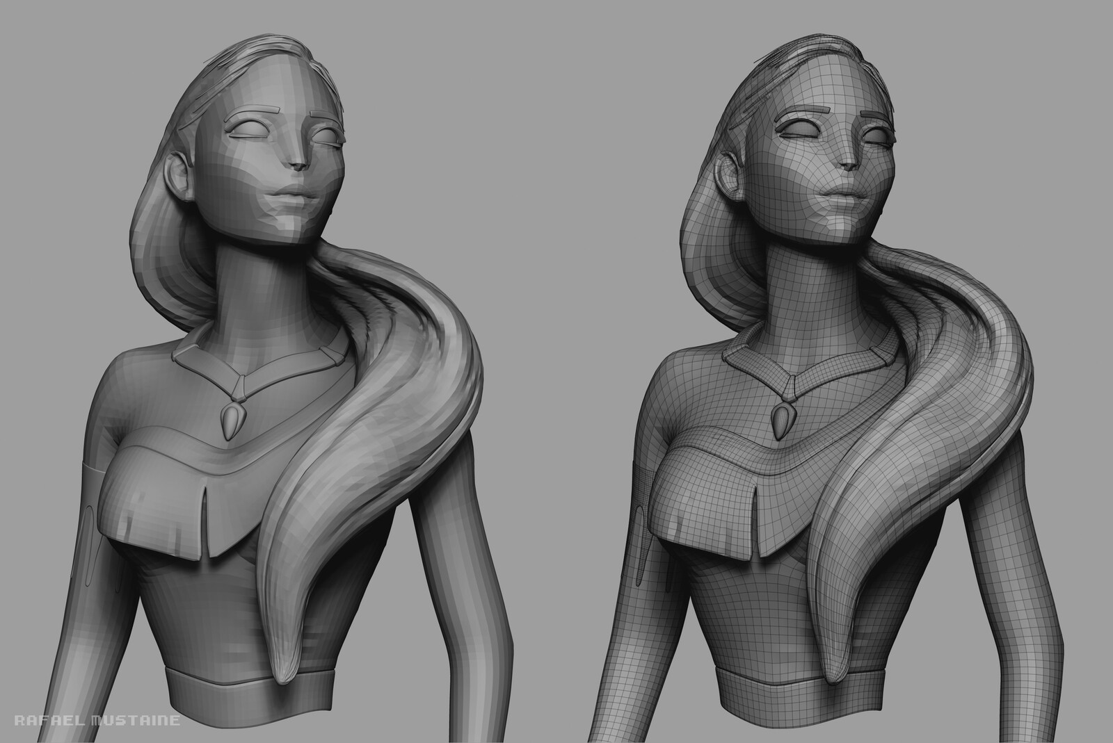 Pocahontas ZBrush