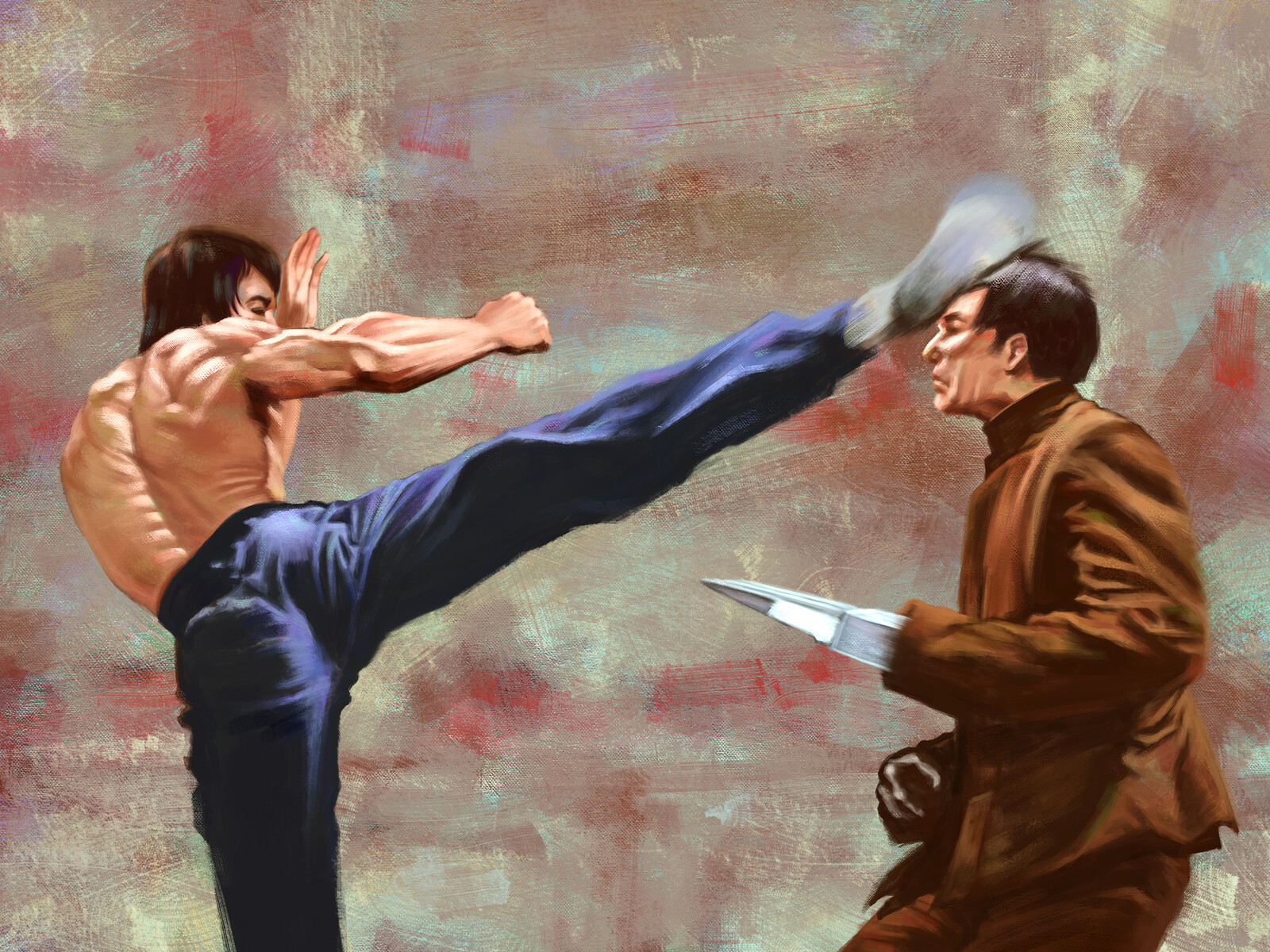 Artstation Enter The Dragon Bruce Lee Yuan Li