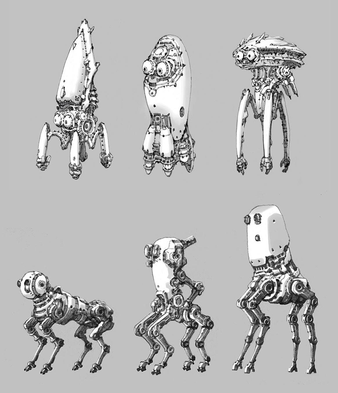 Min seub jung robot 14