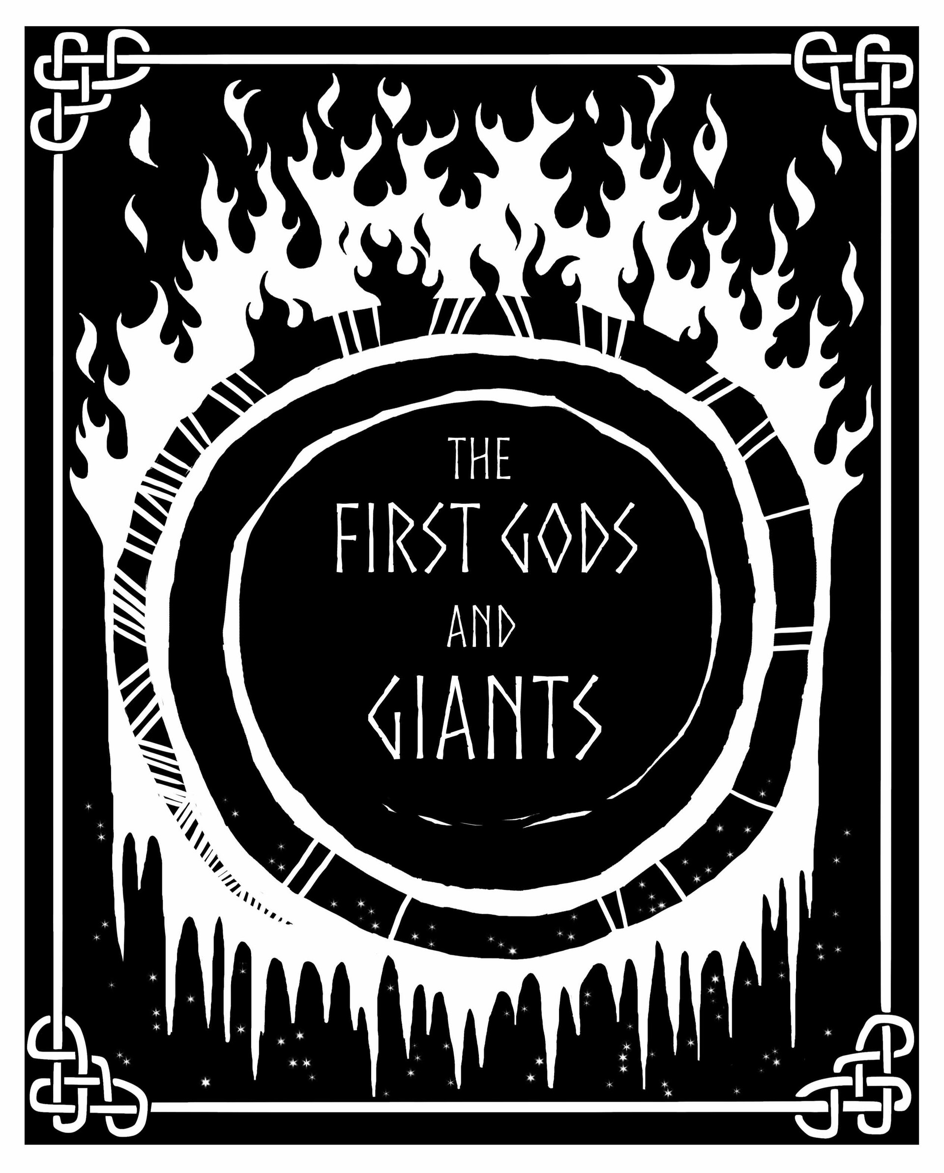 Mary roach the first gods and giants cover crop