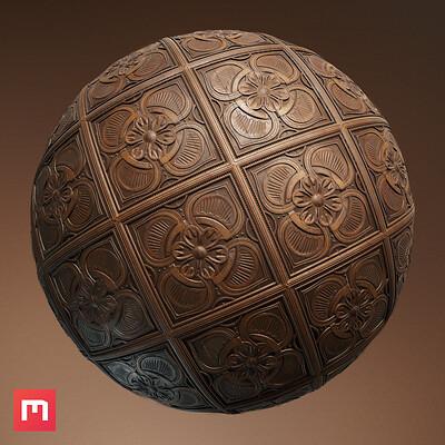 Wiktor ohman wood panels sphere