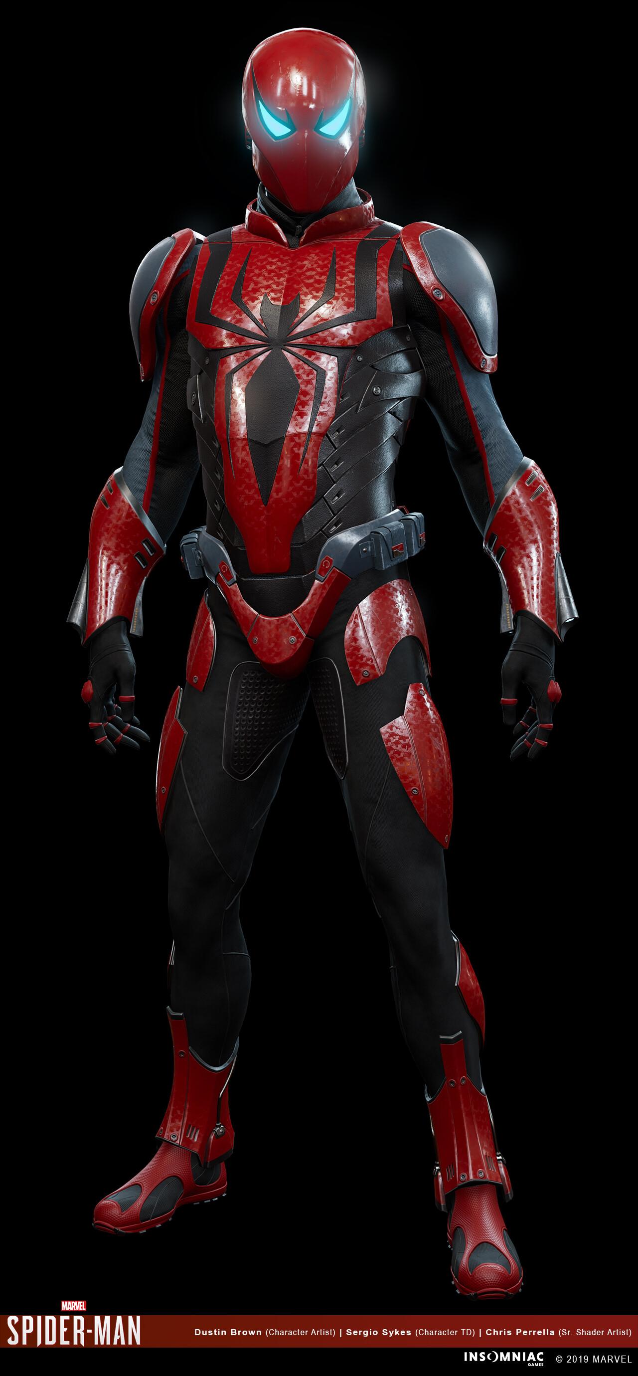 Dustin brown marvels spiderman herosuit mk3 03