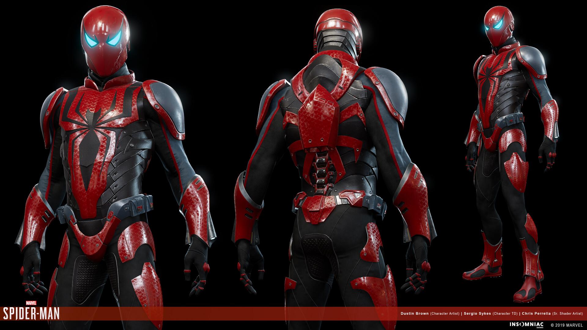 Dustin brown marvels spiderman herosuit mk3 01