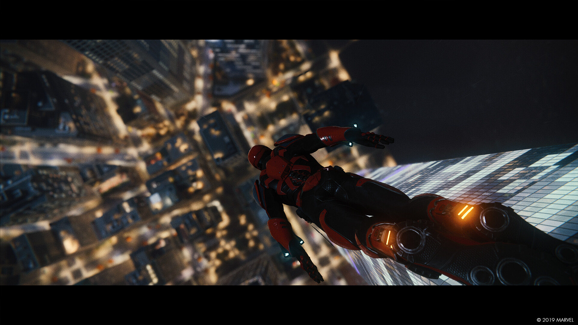 Dustin brown marvels spiderman photomode landscape 06