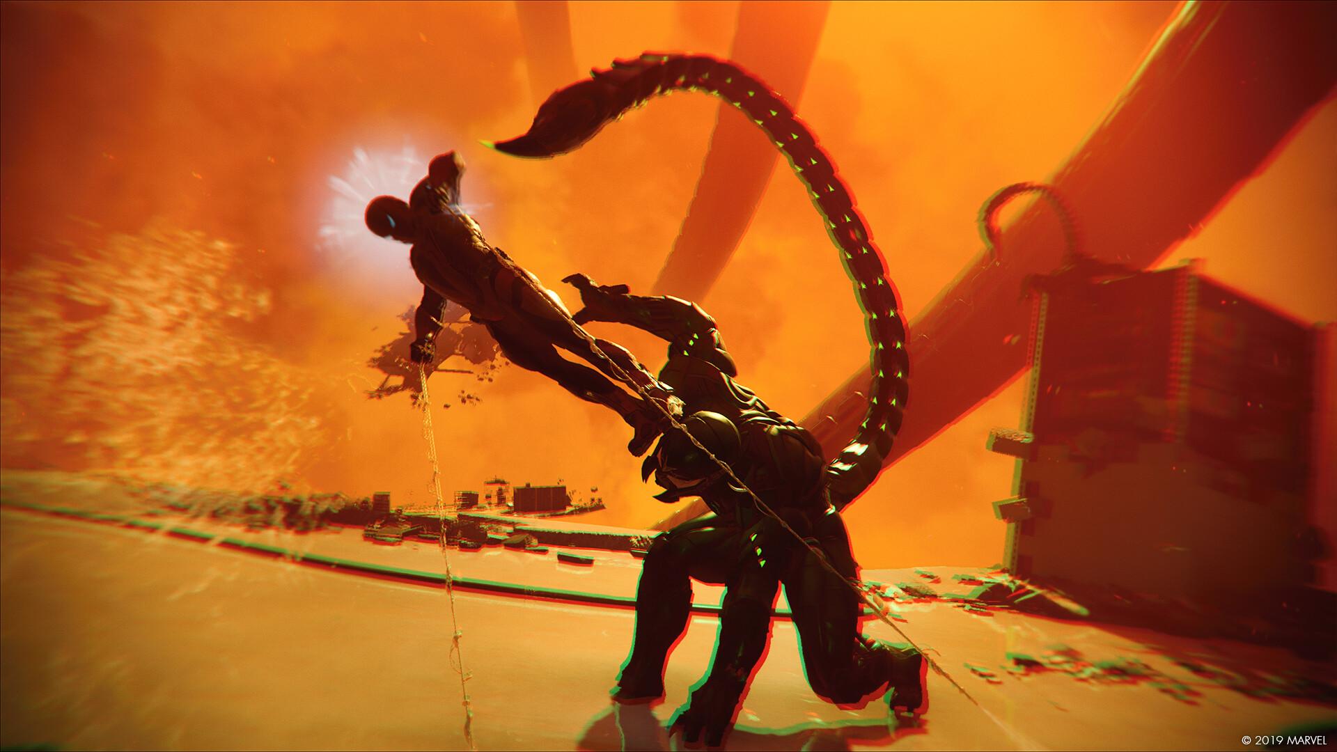 Dustin brown marvels spiderman photomode landscape 08