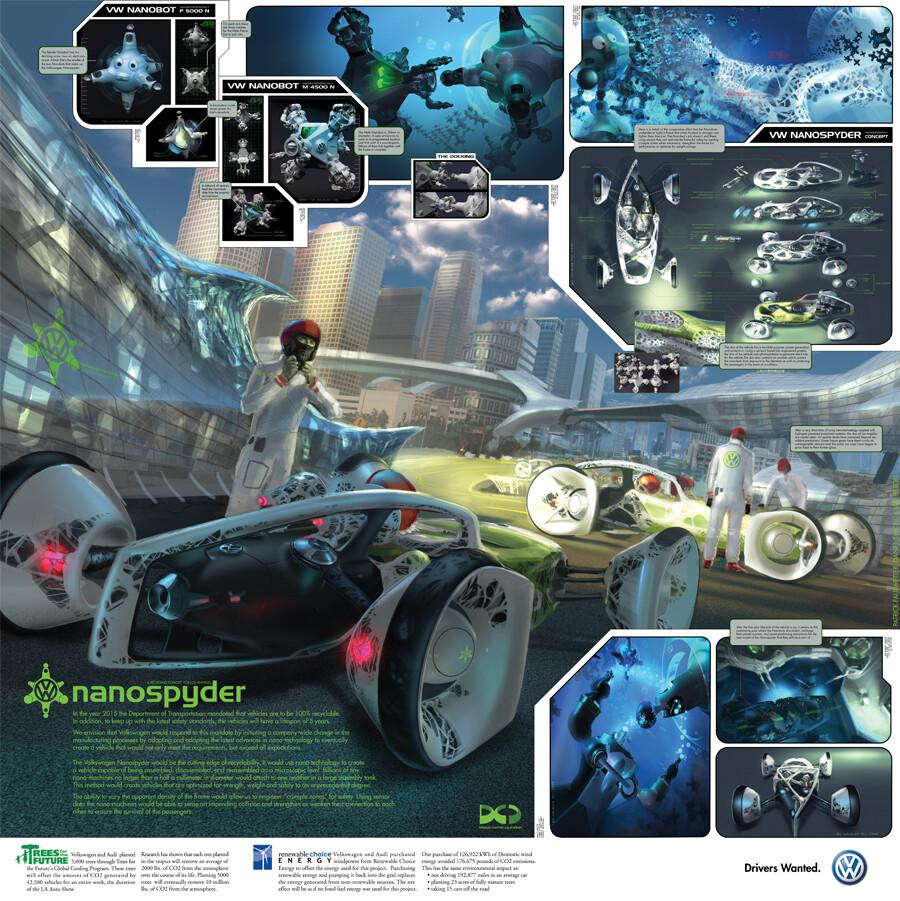 Patrick faulwetter nanospyder poster