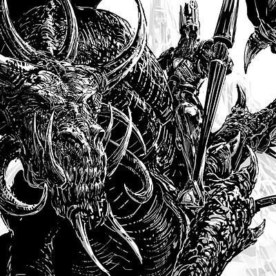Atom cyber dragon knight