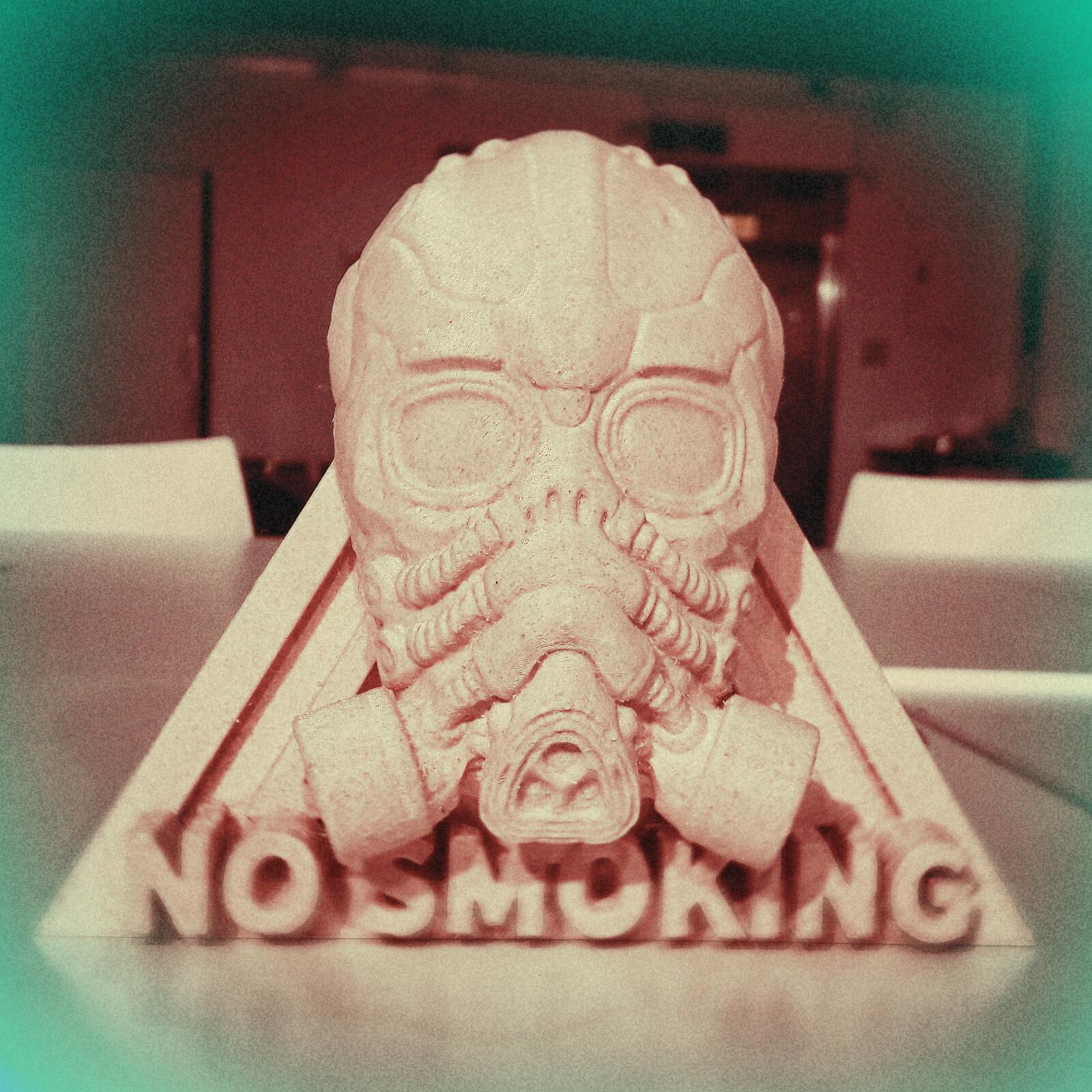 Gas mask 3D printing