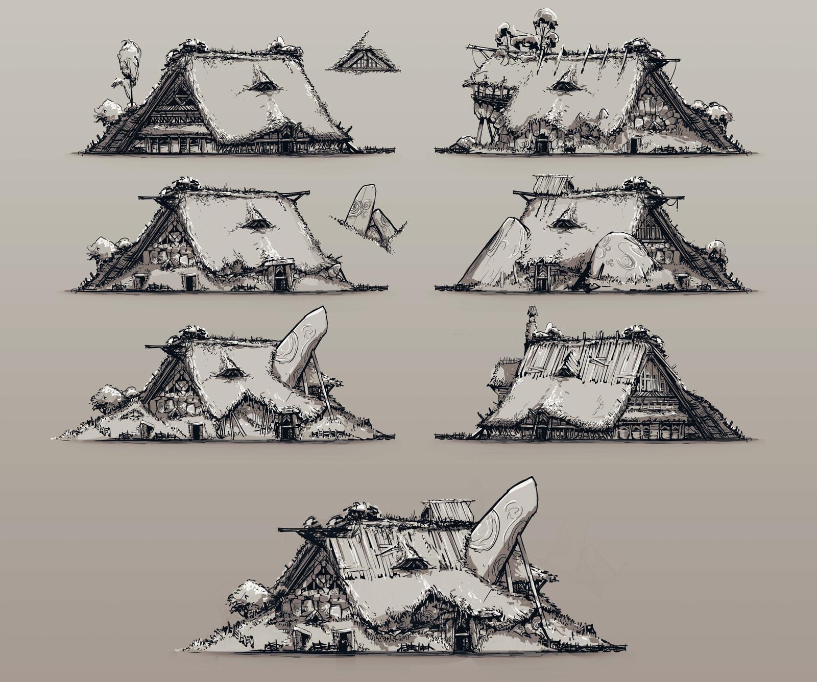 Taverns Concept Art