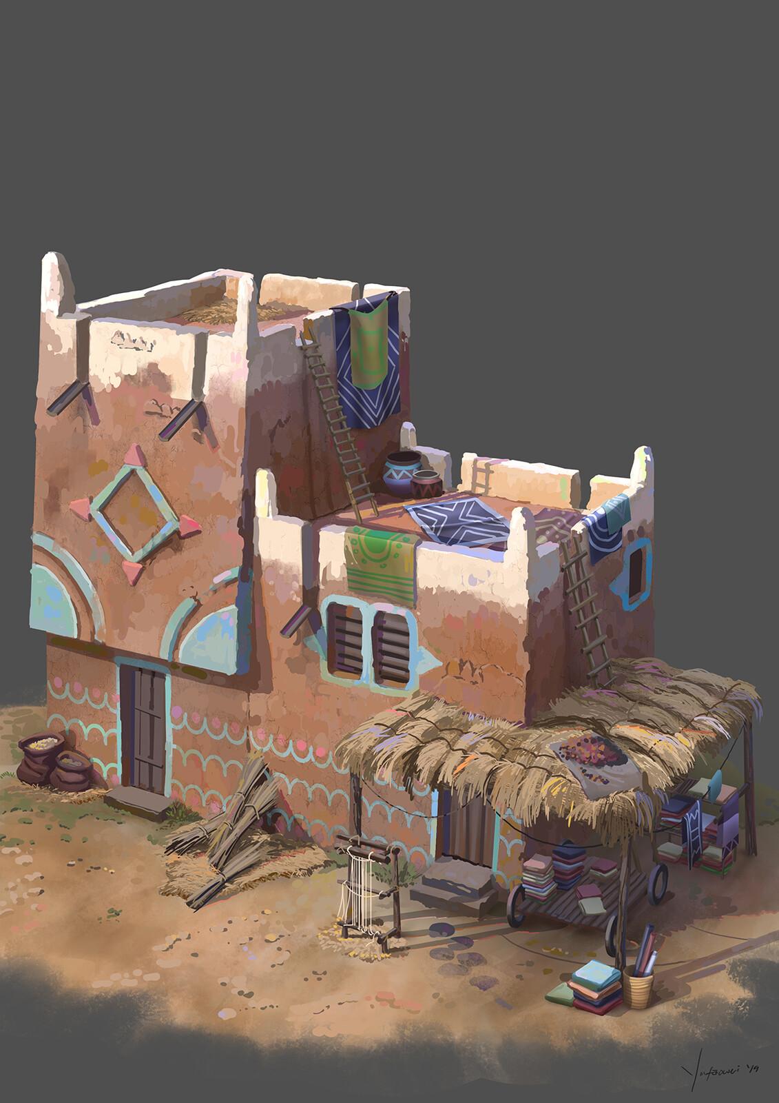 Batik Dealer house
