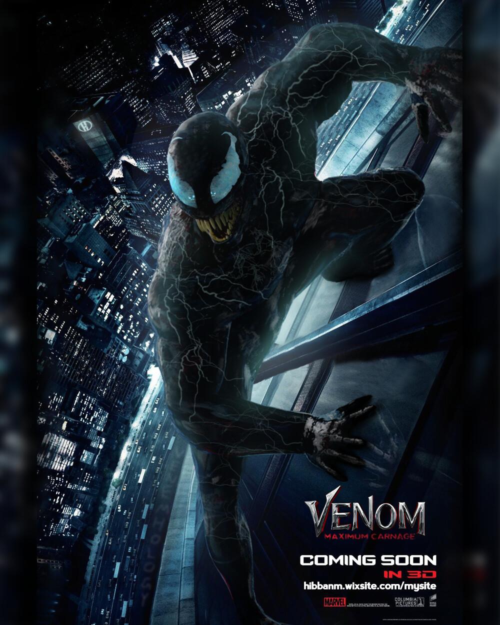 Hibban Mohammed Venom Maximum Carnage Concept Poster