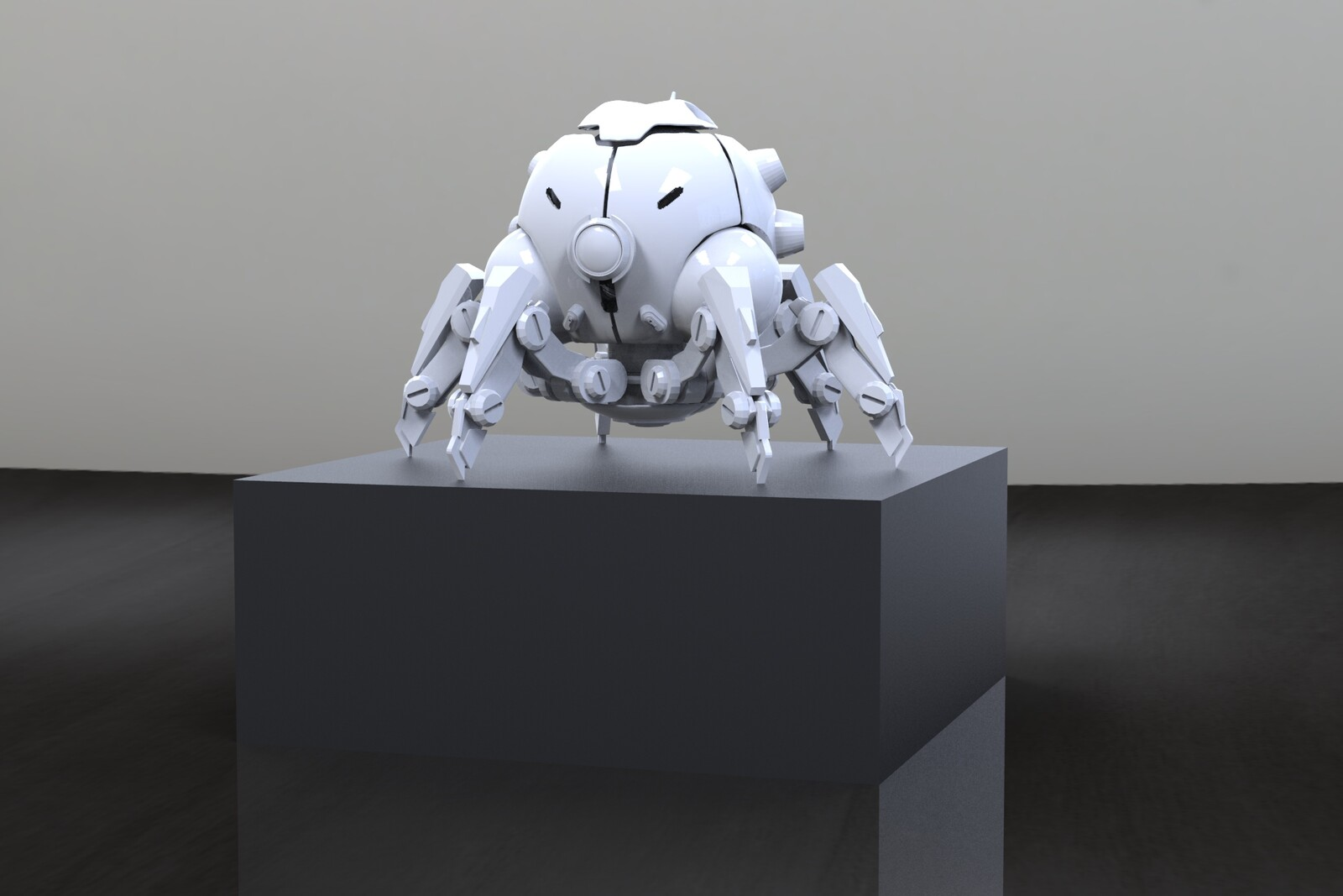 ZBrush Model rendered in  Keyshot