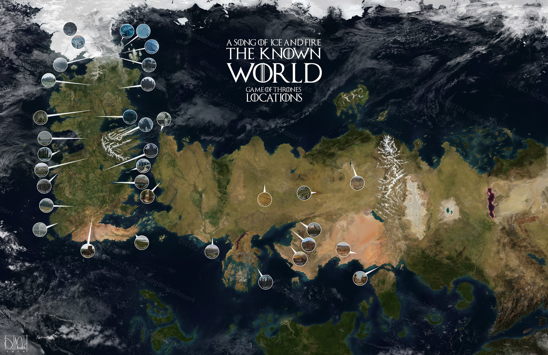 ArtStation - A SONG OF ICE AND FIRE. THE KNOWN WORLD. GAME ... on game of thrones continents, game of thrones world map pdf, game of thrones maps and families, ice and fire world map, sca known world map, game of thrones chart,