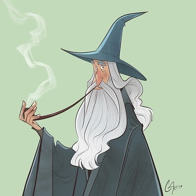 Christopher ables gandalf the grey