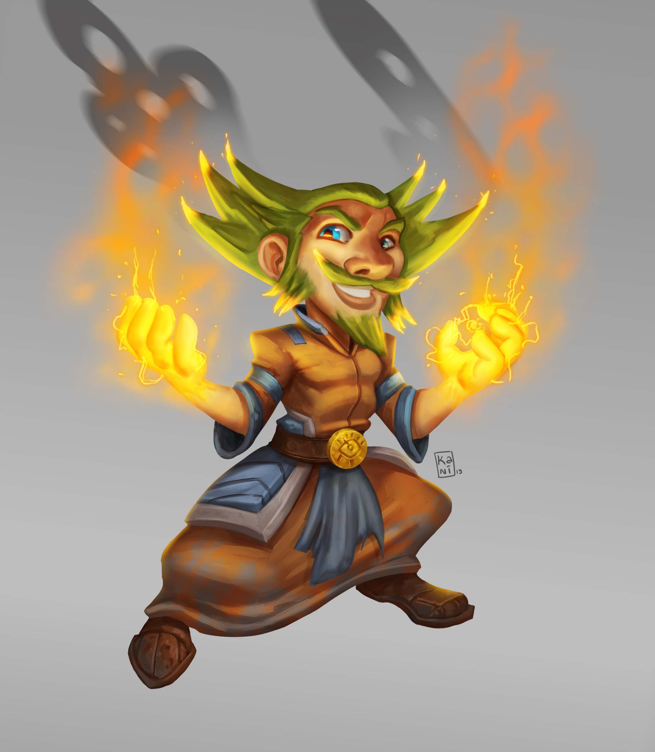 Fire Gnome Mage 2019