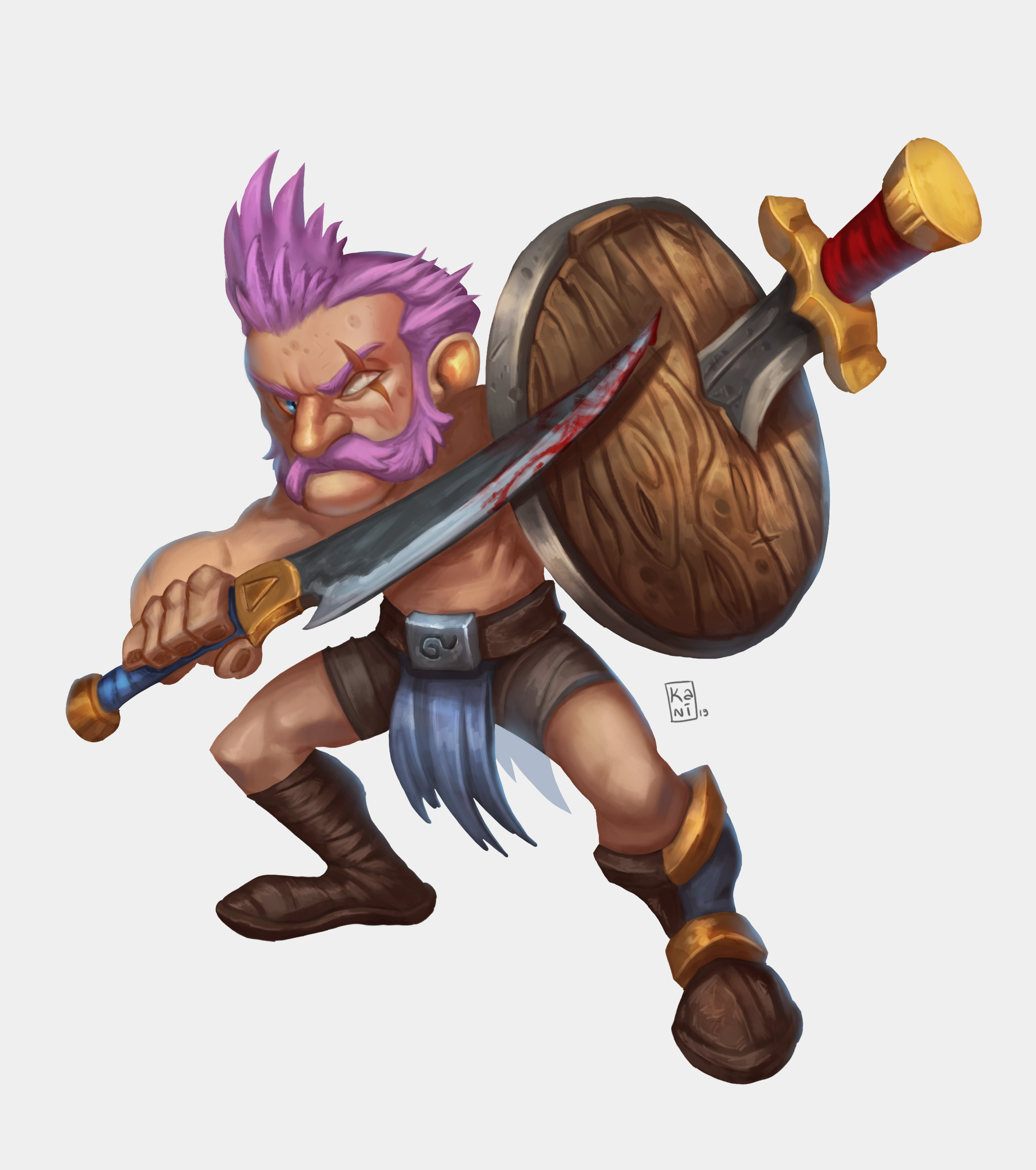Lv 5 Gnome Warrior 2019