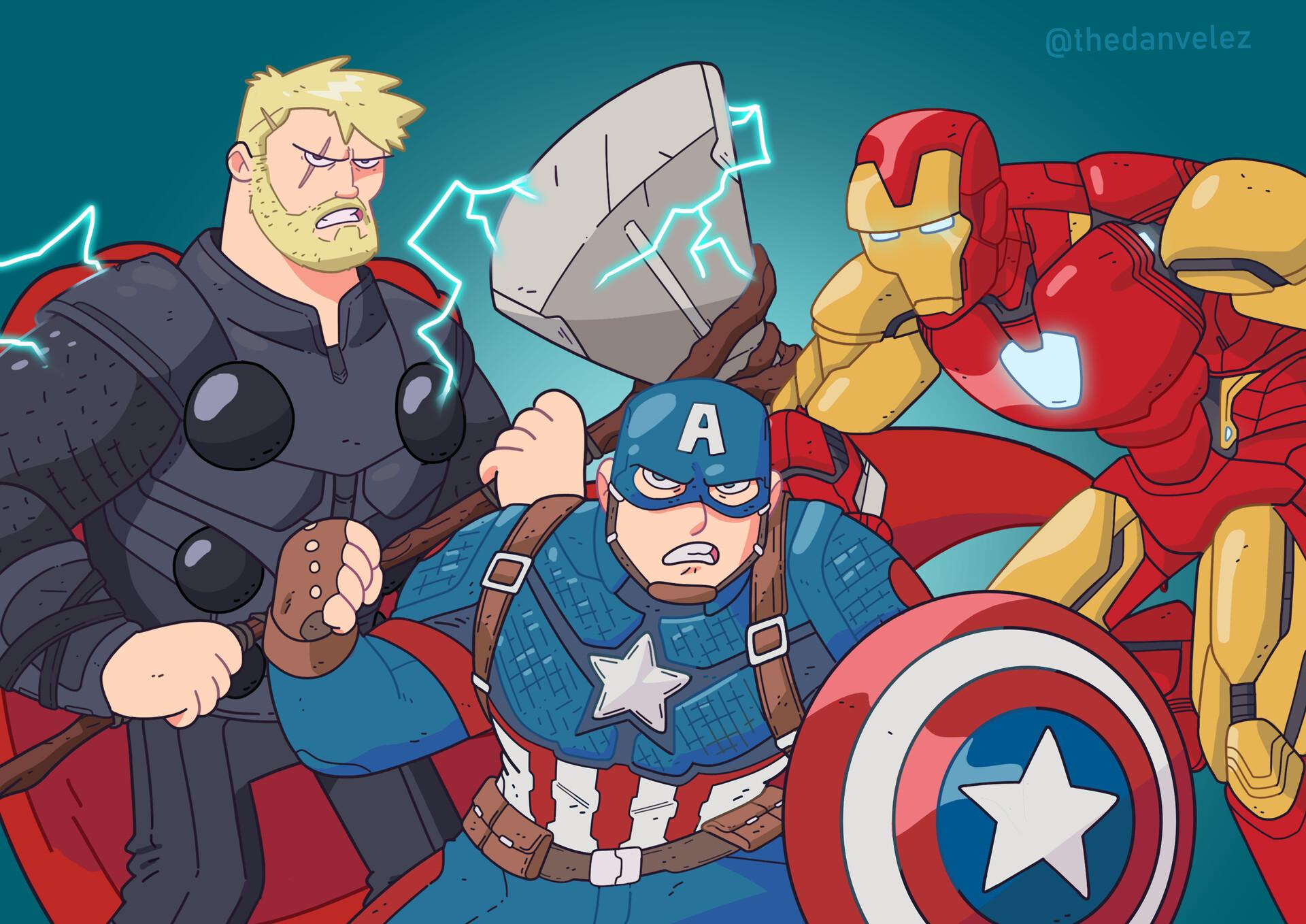 Dan velez avengers endgame poster