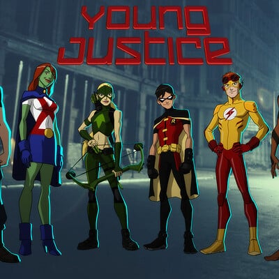 Jerome moore young justice team