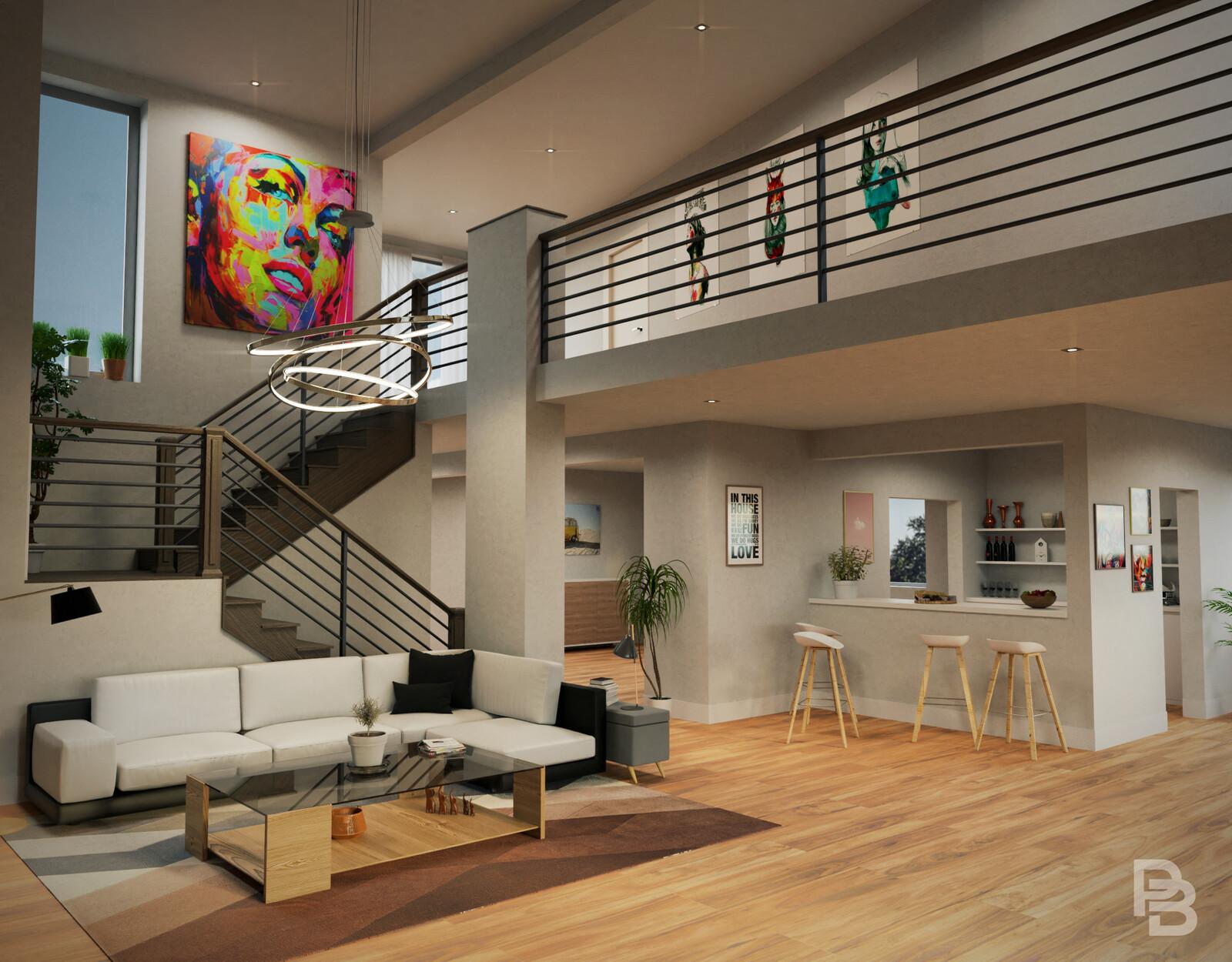 Colorado living room