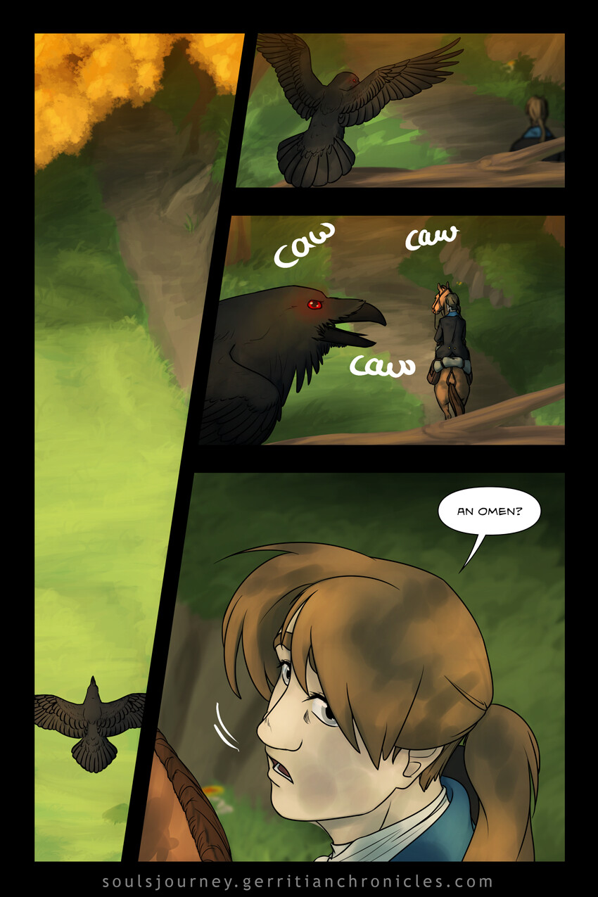 [Soul's Journey] Comic Excerpt: Chapter 2 Pages 27-30