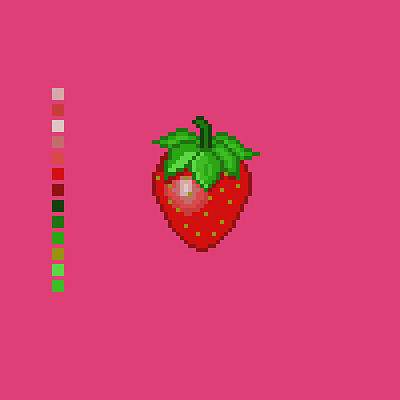 Tim smith pixel strawberry
