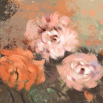 Emrullah cita flowers sketch