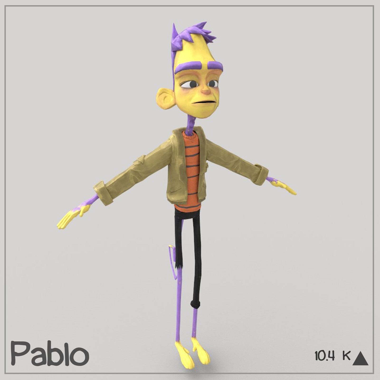 Pablo (Game-Ready Character)