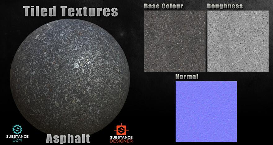 B2M Substance Material - Asphalt