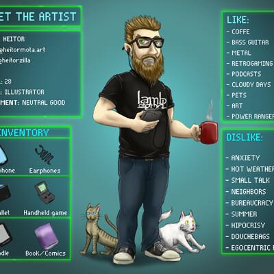 Heitor mota meet the artist enus