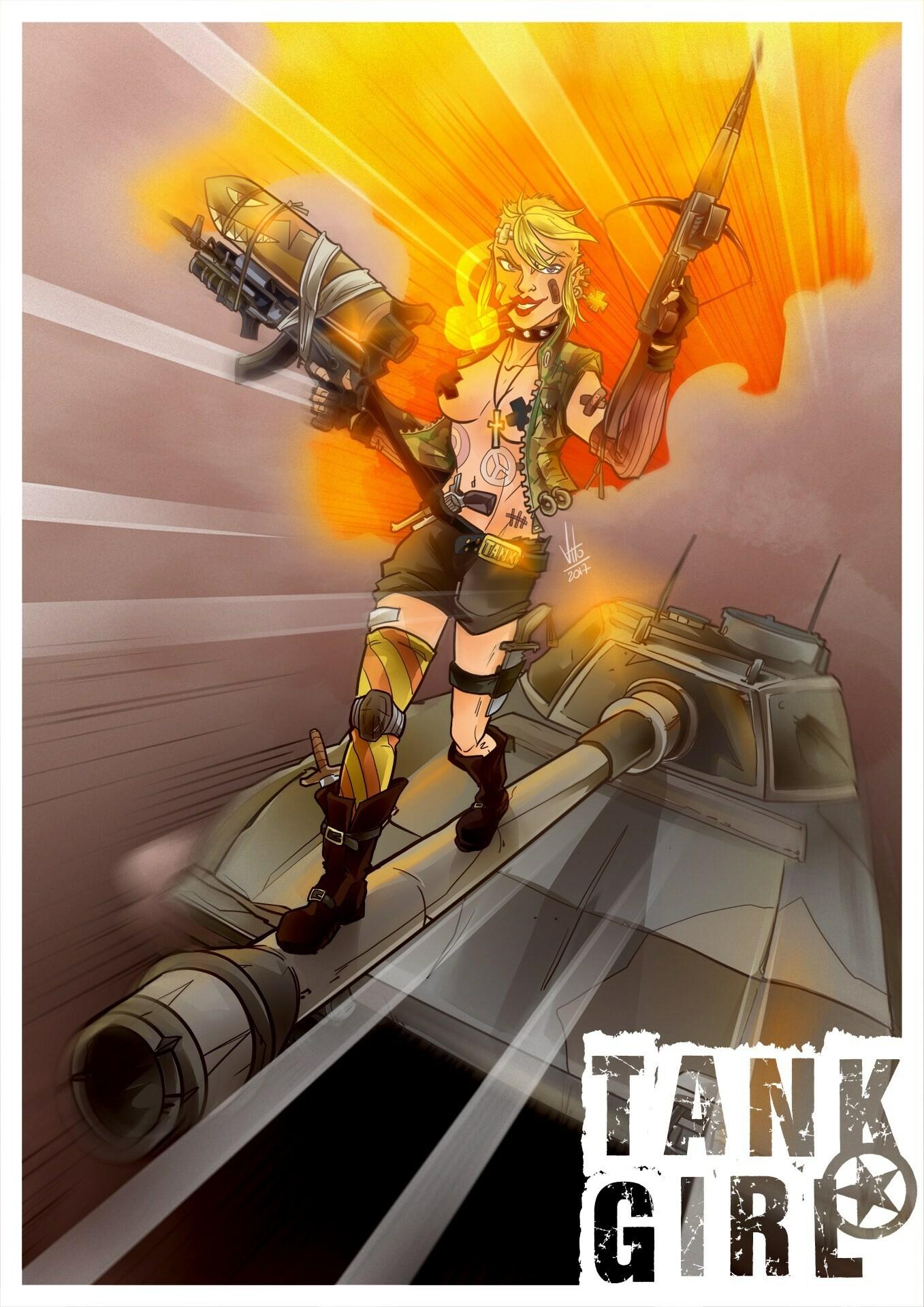 Vito potenza 21 tank girl 2 1