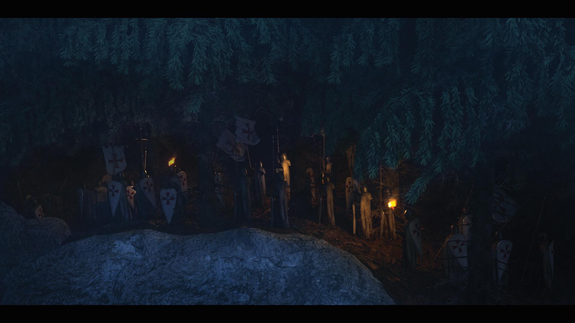 Wojtek kapusta templars forest 06