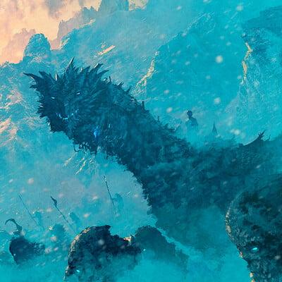 Anato finnstark winter knocks at the door game of thrones by anatofinnstark dd4qatm fullview