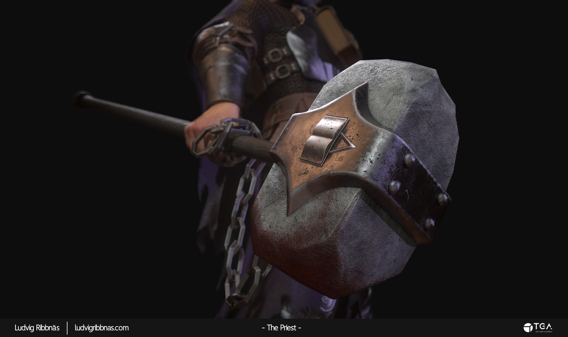 Ludvig ribbnas thepriest hammer