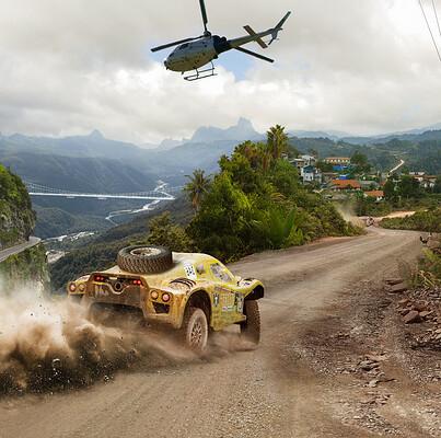 Richard tilbury jungle race