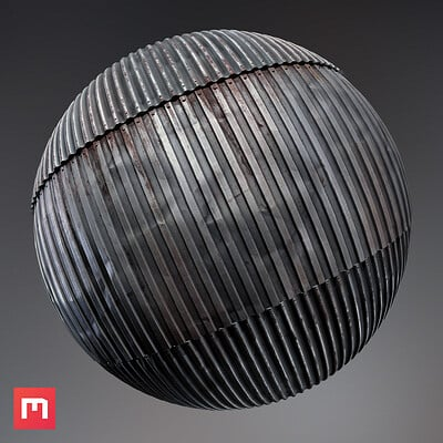 Wiktor ohman corrugated plate sphere
