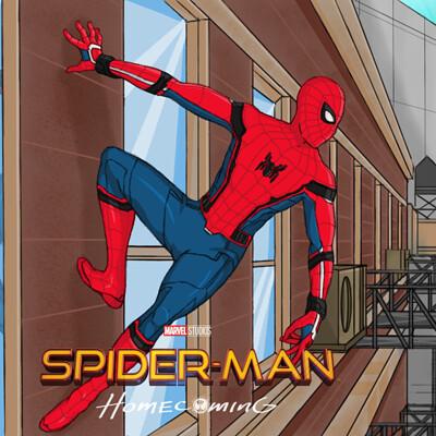 Tumelo thabane spiderman homecoming 01