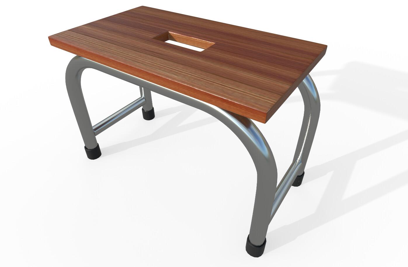 Joseph moniz footstool001d