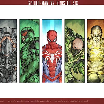 Phenky stephen spiderman sinister six