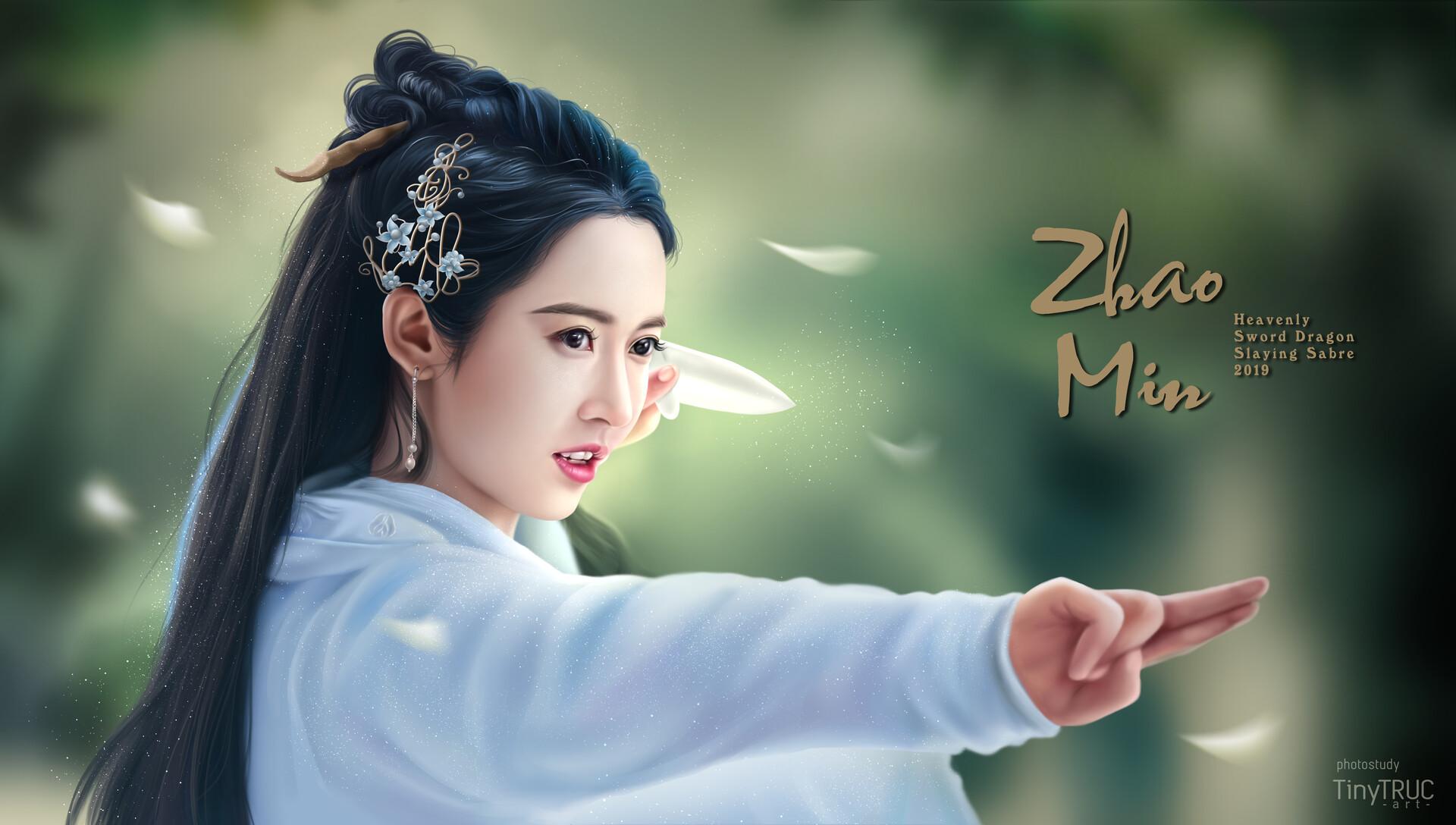Artstation Zhao Min Yukee Chen In Heavenly Sword Dragon Slaying Sabre 2019 Tiny Truc