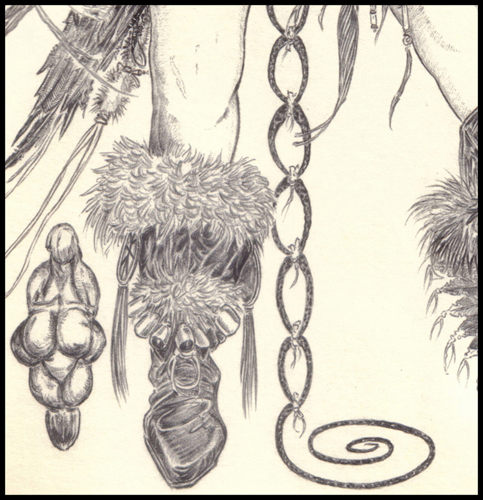 Original Art, close up.