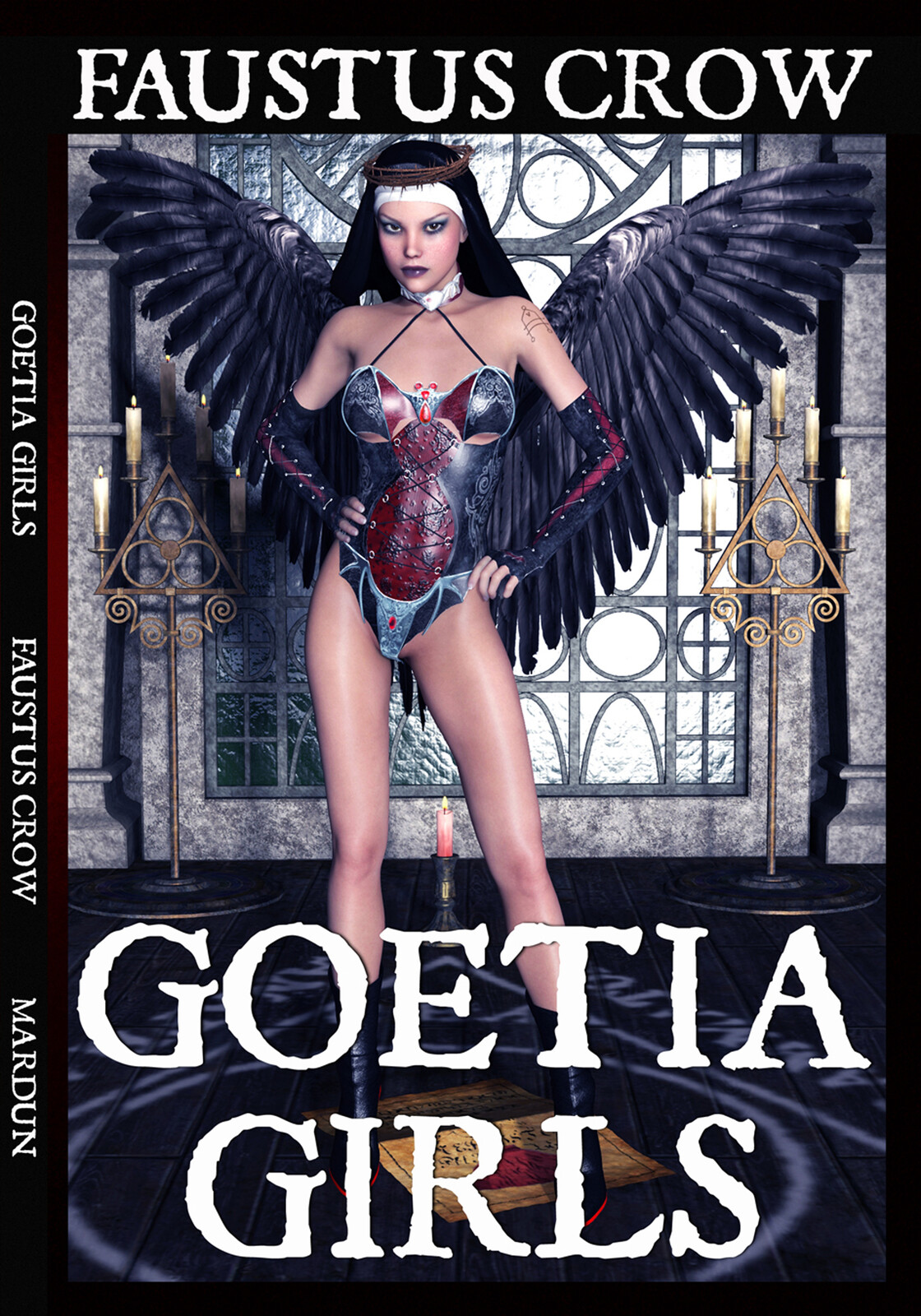 Cover design for Goetia Girls book one, which has been published.