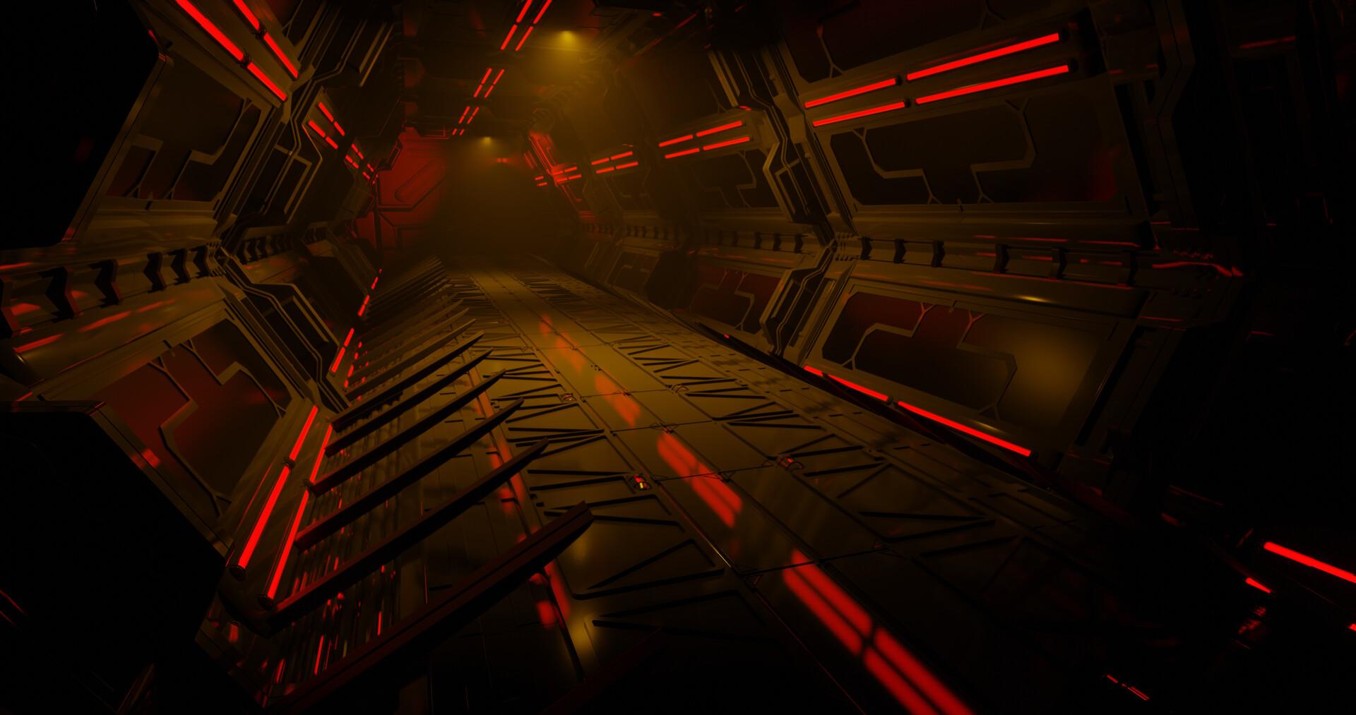 Danny tamez dannytamez w2 sci fi corridor new 4k