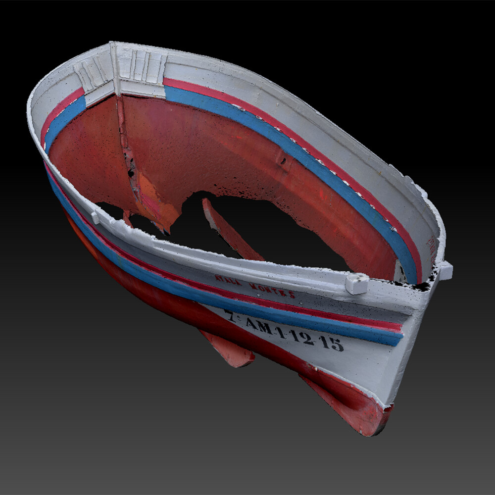 Tomasz wieczorkowski cleaned hull removed wonky scan parts and large triangles