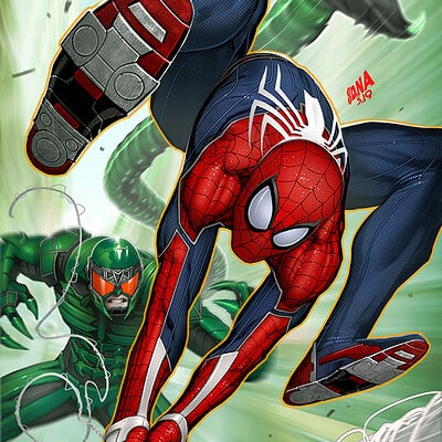 David nakayama spiderman cityatwar 05 scorpion 1000v