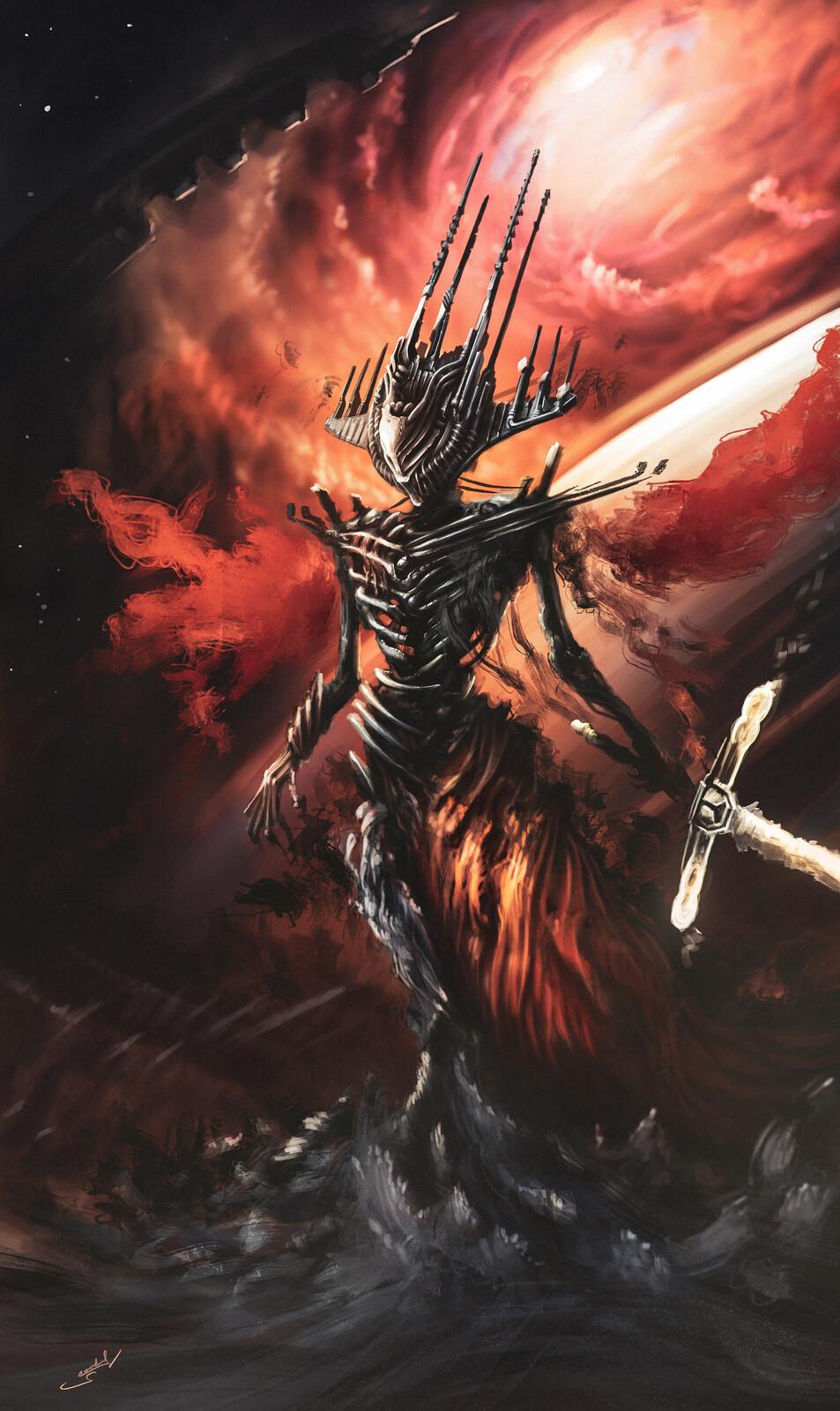 """Space Darkness"" creature"